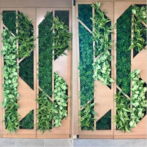 EKS&H plant wall