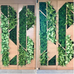 EKS&H Living plant wall.