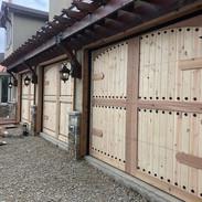 custom clad wood doors