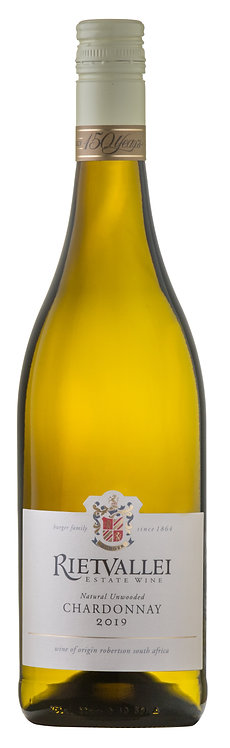 Rietvallei Natural Unwooded Chardonnay 2019
