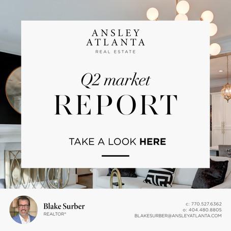 2nd Quarter Real Estate Market Report for Metro Atlanta