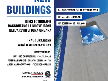 "IN MILAN EXHIBITION ""NEW BUILDINGS"""