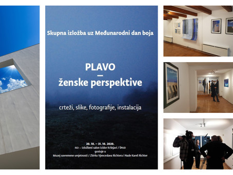 "EXHIBITION ""BLUE-WOMEN'S PERSPECTIVES"""