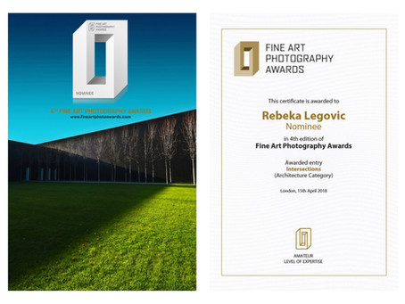 NOMINEE 4th FINE ART PHOTOGRAPHY AWARDS