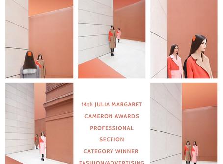 WINNER 14th JULIA MARGARET CAMERON AWARD