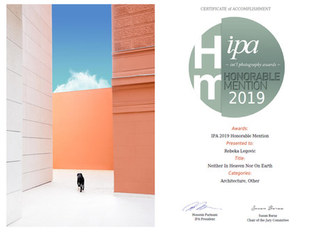 HONORABLE MENTION IPA INTERNATIONAL PHOTOGRAPHY AWARDS