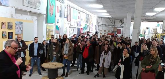 Young Generation Art FAir 2018- Dr Máriás Béla