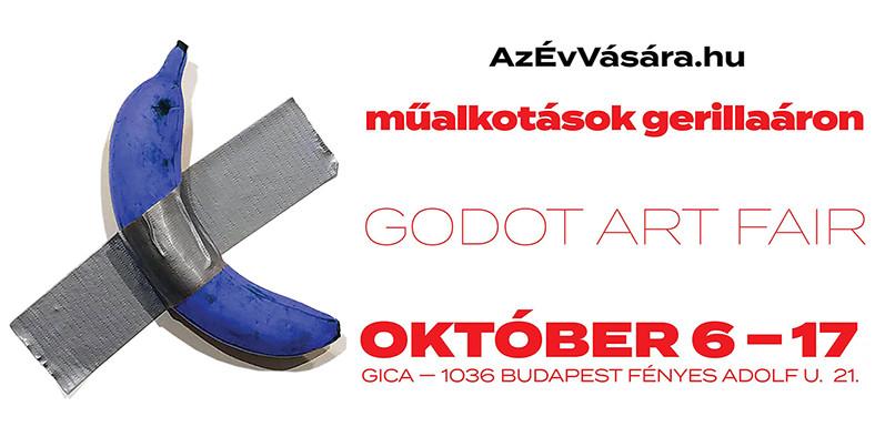 6. Godot Art Fair - Műalkotások gerillaáron