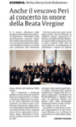 recensione giornale concerto epifania 2018
