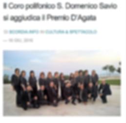 1 premio concorso musicale D'Agata città di Acireale