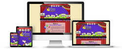 Curious Moon Puppets web design