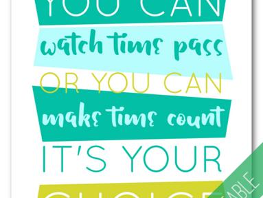 Printable: Make Time Count