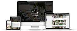 SPR Events web design