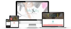 Ashley Kelly Hair Life web design