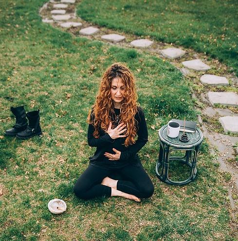 Meditating in back yard big pic2.jpg