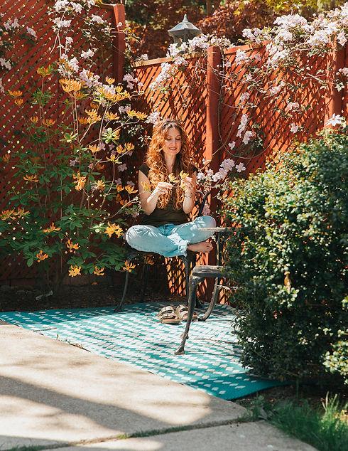 Outside in Deb's Garden.jpg