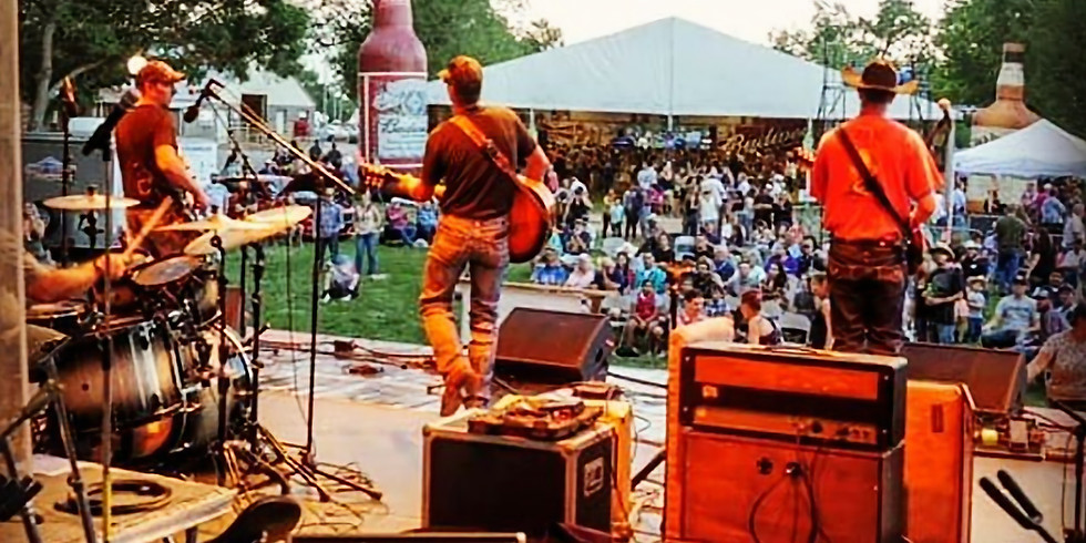Jesse Cornett & The Revolvers at Sublette County Fair