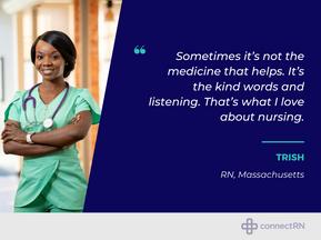 Clinician Spotlight: Trish (RN, Massachusetts)