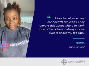 Clinician Spotlight: Isioma (GNA, Maryland)