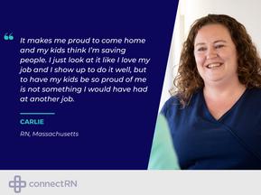 Clinician Spotlight: Carlie (RN, Massachusetts)