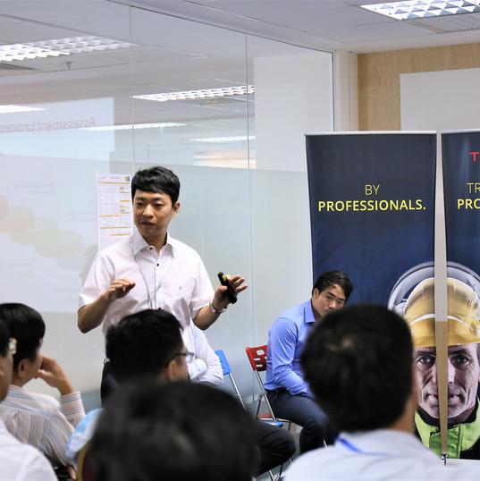 Mr. David Yang-Trainor Korea, Certification Manager