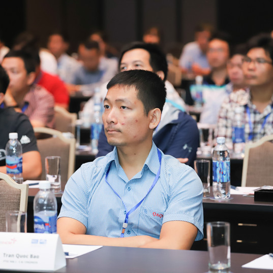 Mr.Tran Quoc Bao, I & E engineer at PTSC M&C