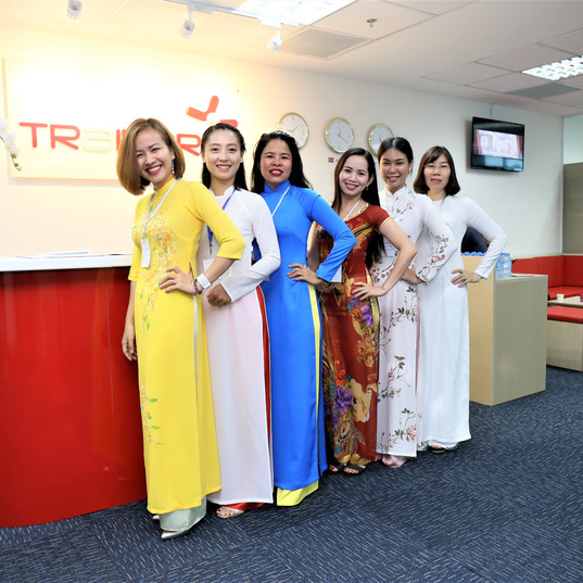Reception ladies