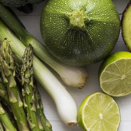 Os benefícios dos alimentos verdes!