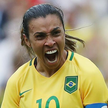 A rainha do futebol mundial!
