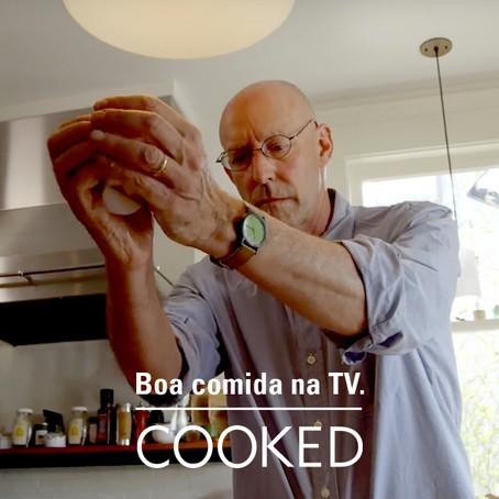 Maratona no Netflix sobre boa alimentação.
