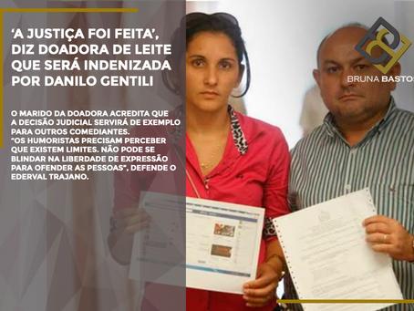 'A justiça foi feita', diz doadora de leite que será indenizada por Danilo Gentili
