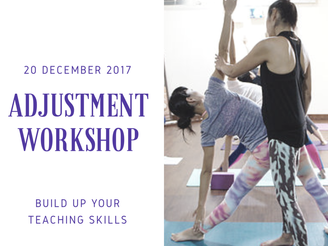 {Delhi/Workshop} Adjustment アジャストメント・ワークショップ