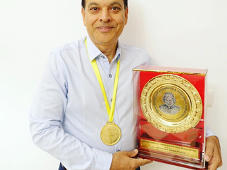 【Gold Award】金賞受賞 BHARAT RATNA Dr ABDUL KALAM GOLD MEDAL