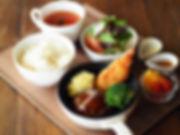 ゴロゴロ野菜のハンバーグセット.JPG