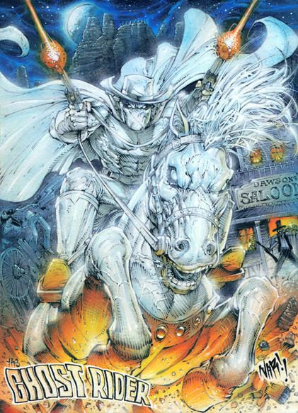 The Western Ghostrider!