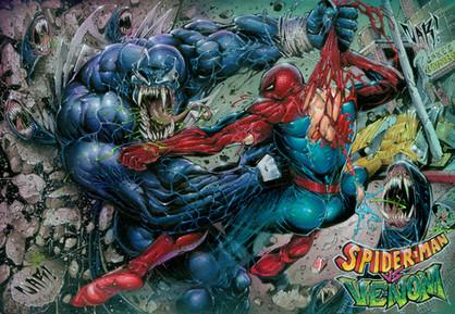 Spider-Man vs Venom!