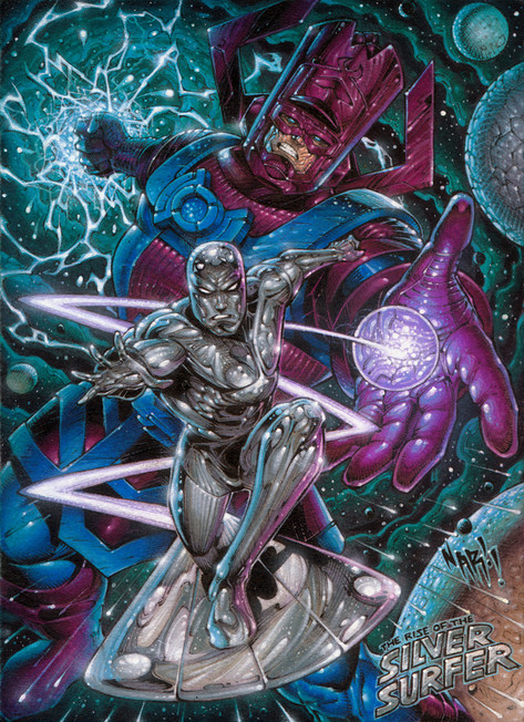 Rise Of The Silver Surfer!