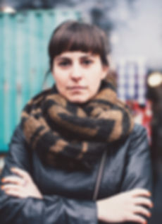 Brand designer Isabel Elia photographed in the streets of Berlin