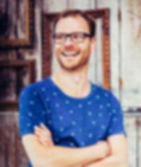 Commissioned Portrait on location of HALM Founder Sebastian Müller