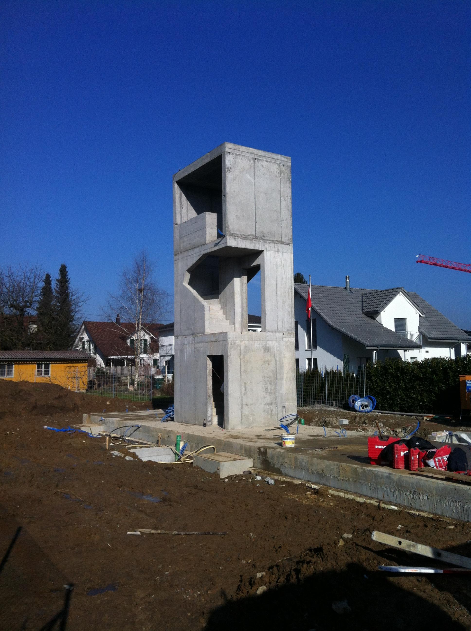 Neubau Holzhaus Weibel Hegewald