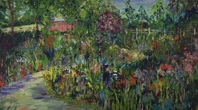 Grada's Painting Path Flower Bush.JPG