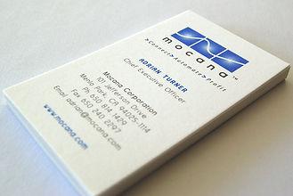 Mocana Corporation Business Cards