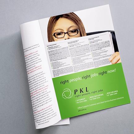 PKL Personnel Magazine Ad
