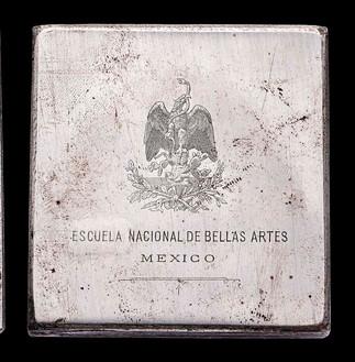 Grabado de la Escuela Nacional de Bellas Artes