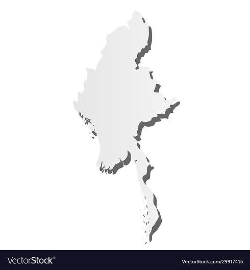 burma-myanmar-grey-silhouette-map-vector