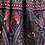 Thumbnail: Black and pink feather pants -                     one size