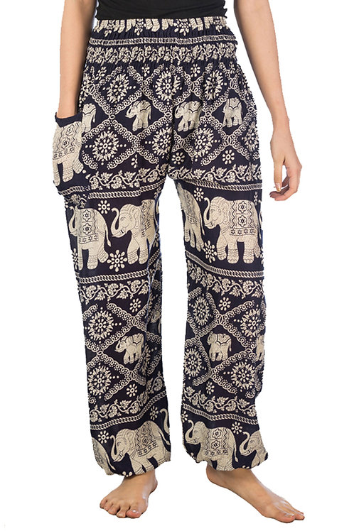 Cute Blue Elephant Pants           -                  one size fits all