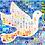Thumbnail: Dove Mosaic Holiday Card
