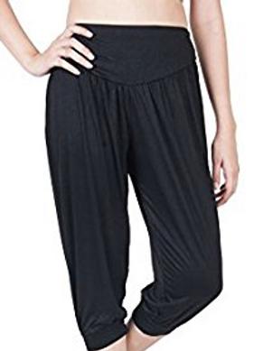 Black yoga pants - one size