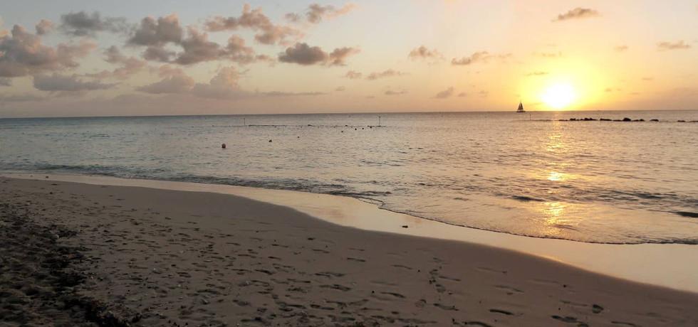 Sunset at Heron Bay Beach